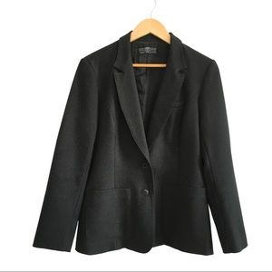 Vintage Levi's black blazer women's 14